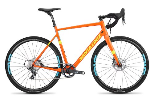 2015 Santa Cruz Stigmata Orange Profile