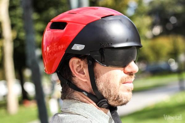 [Test] Casque vélo urbain Kali City avec écran intégré