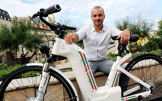 Alpha, le premier vélo électrique qui fonctionne à l'hydrogène