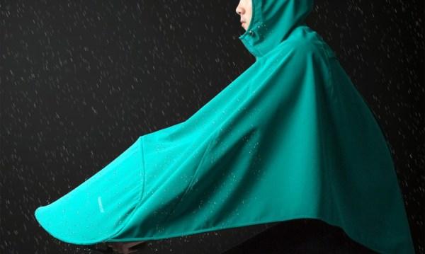 Boncho, Vanmoof lance une cape de pluie nouvelle génération