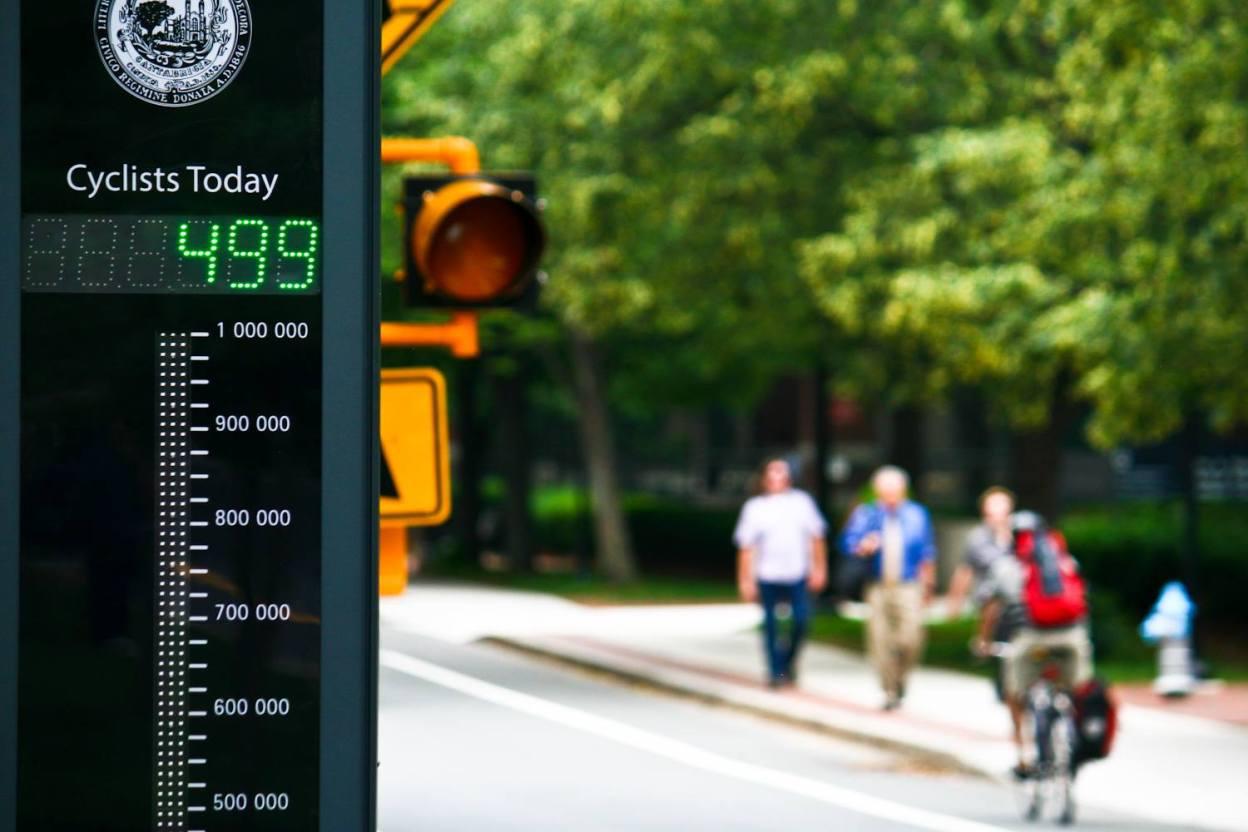 Index Eco-Compteur 2015, hausse du trafic cyclable à l'échelle mondiale