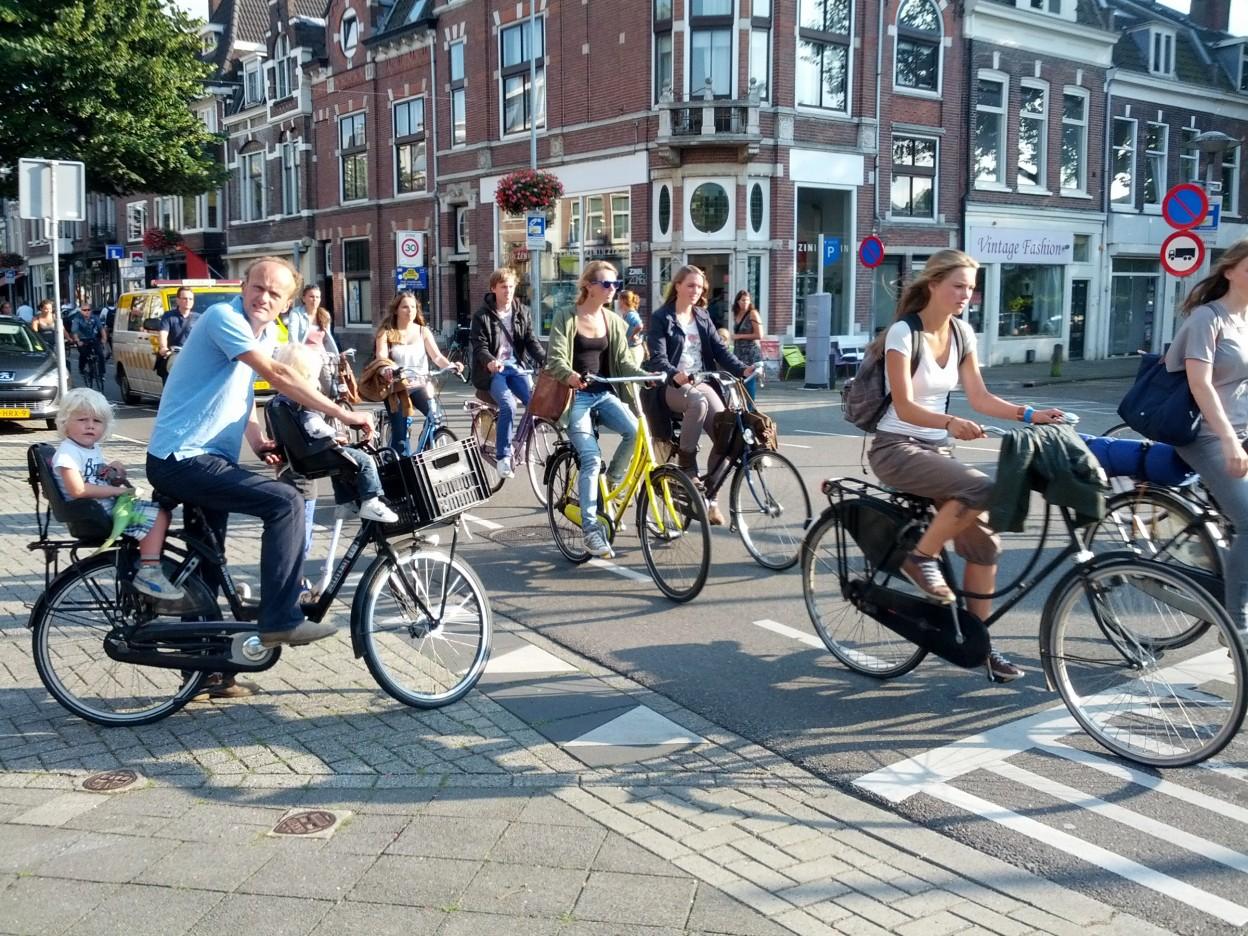 Fiets Telweek, une grande étude sur le vélo urbain à Amsterdam