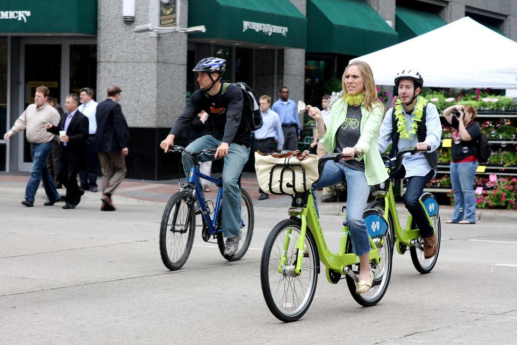 Étude: Le vélo en libre-service moins dangereux que le vélo personnel