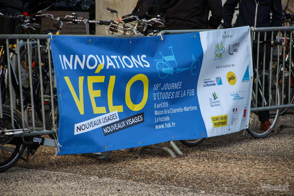 Journée d'études FUB La Rochelle, l'innovation et le vélo