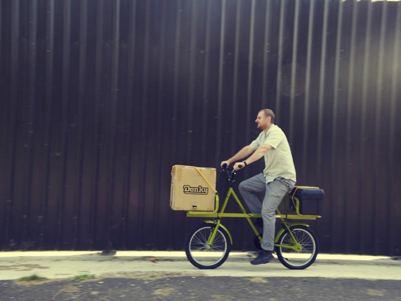 Le Donky Bike, le vélo cargo tête de mule