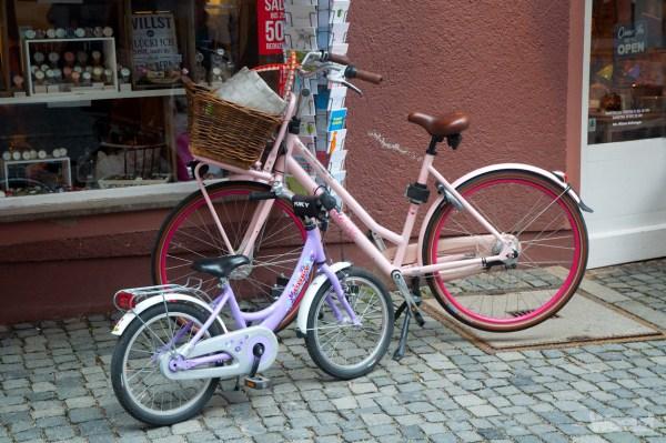 Augsburg, Allemagne - un autre paradis du cycliste urbain