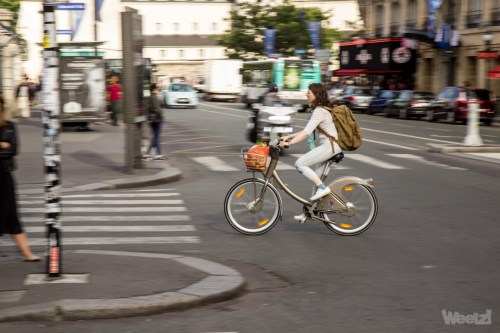 Weelz Velo Cycliste Urbain Paris 1