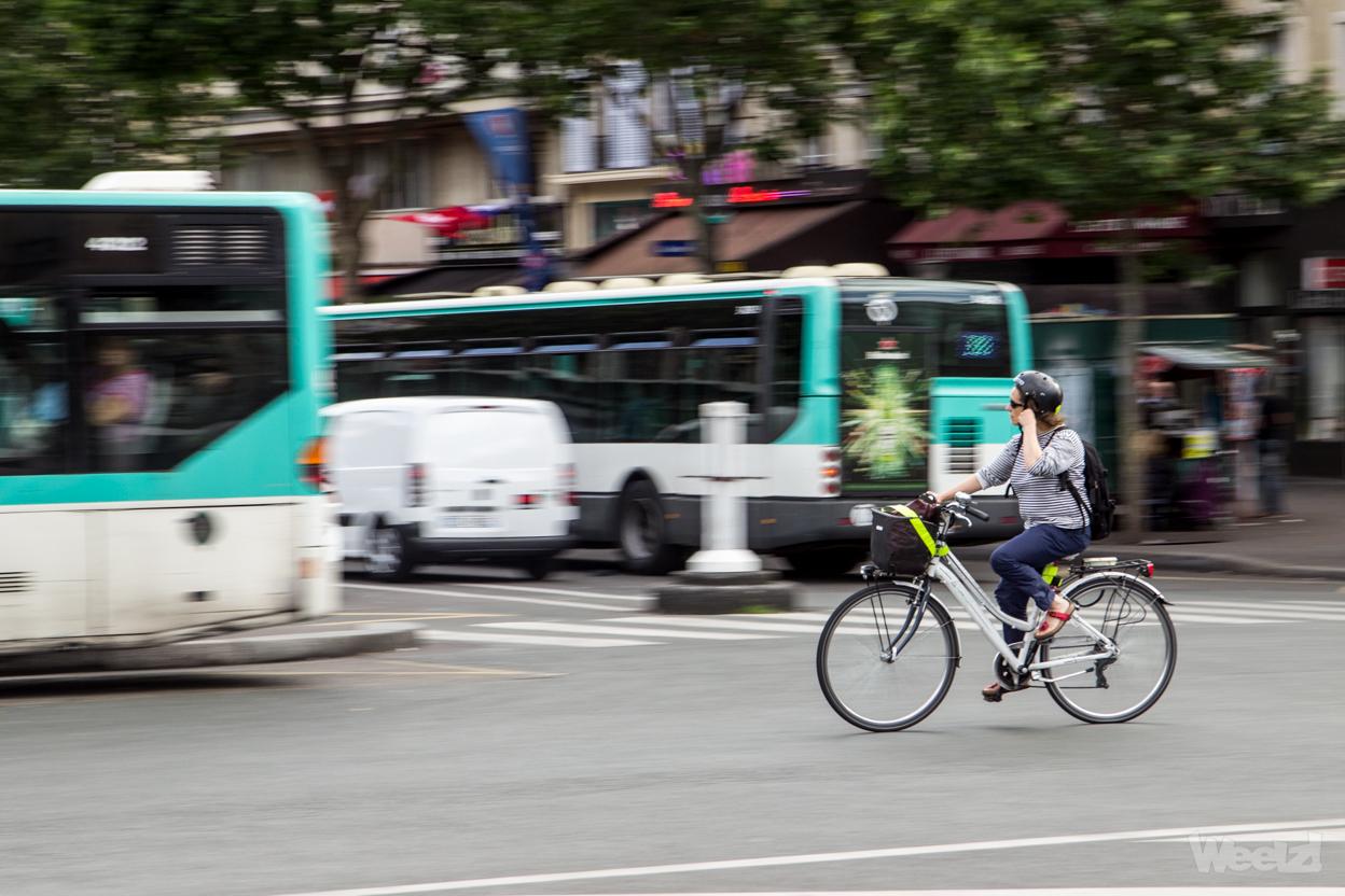 Paris et sa banlieue, où est le vélo ?