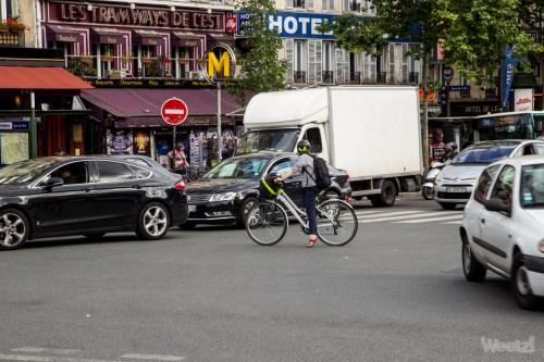 Weelz Velo Cycliste Urbain Paris 5