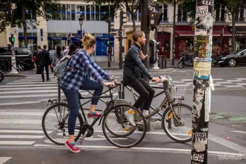 Weelz Velo Cycliste Urbain Paris 7