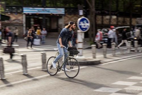 Weelz Velo Cycliste Urbain Paris 9