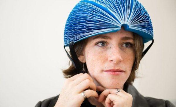 EcoHelmet, après le vélo en carton, le casque en carton