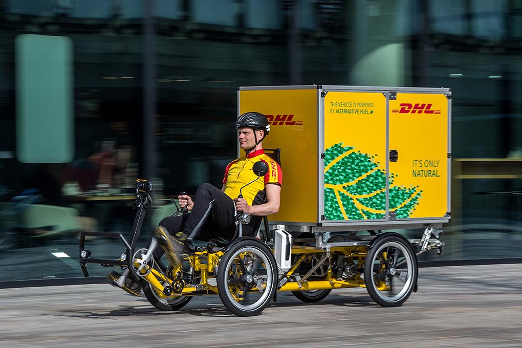 Cubicycles, DHL et la logistique du dernier kilomètre