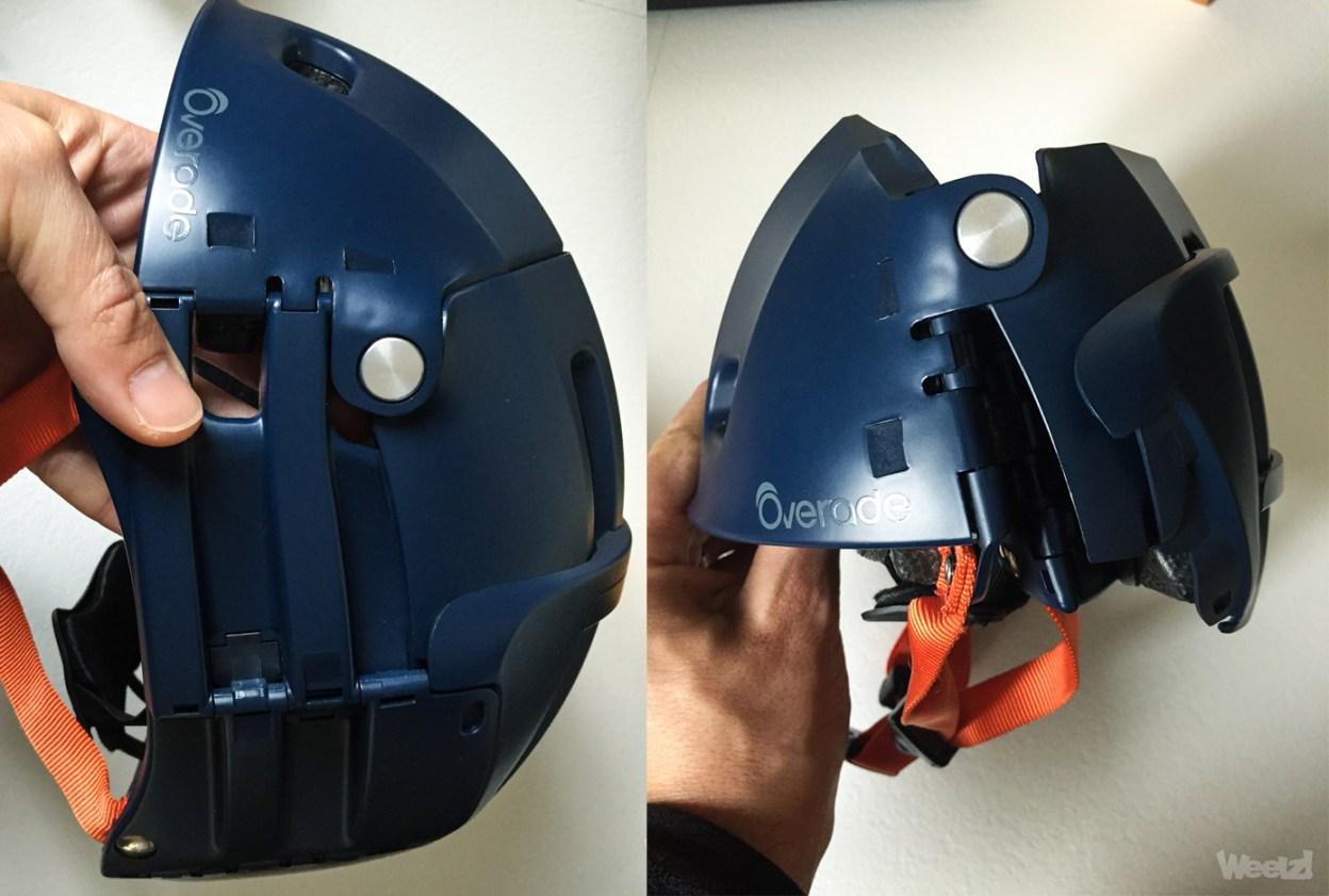 [Test] Overade Plixi Fit : un casque pliable et urbain (enfin) abouti