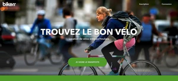 Libérez votre vélo avec Bikerr, location de vélo entre particuliers