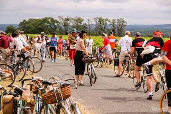 L'Anjou Vélo Vintage 2019, c'est ce weekend à Saumur