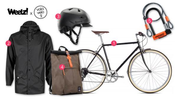Cycliste urbain, la tenue de votre rentrée 2017