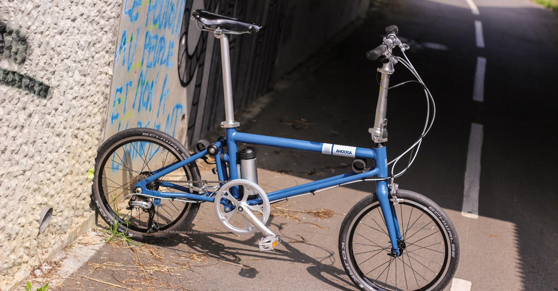 [Test] Ahooga Bike, le vélo pliant belge