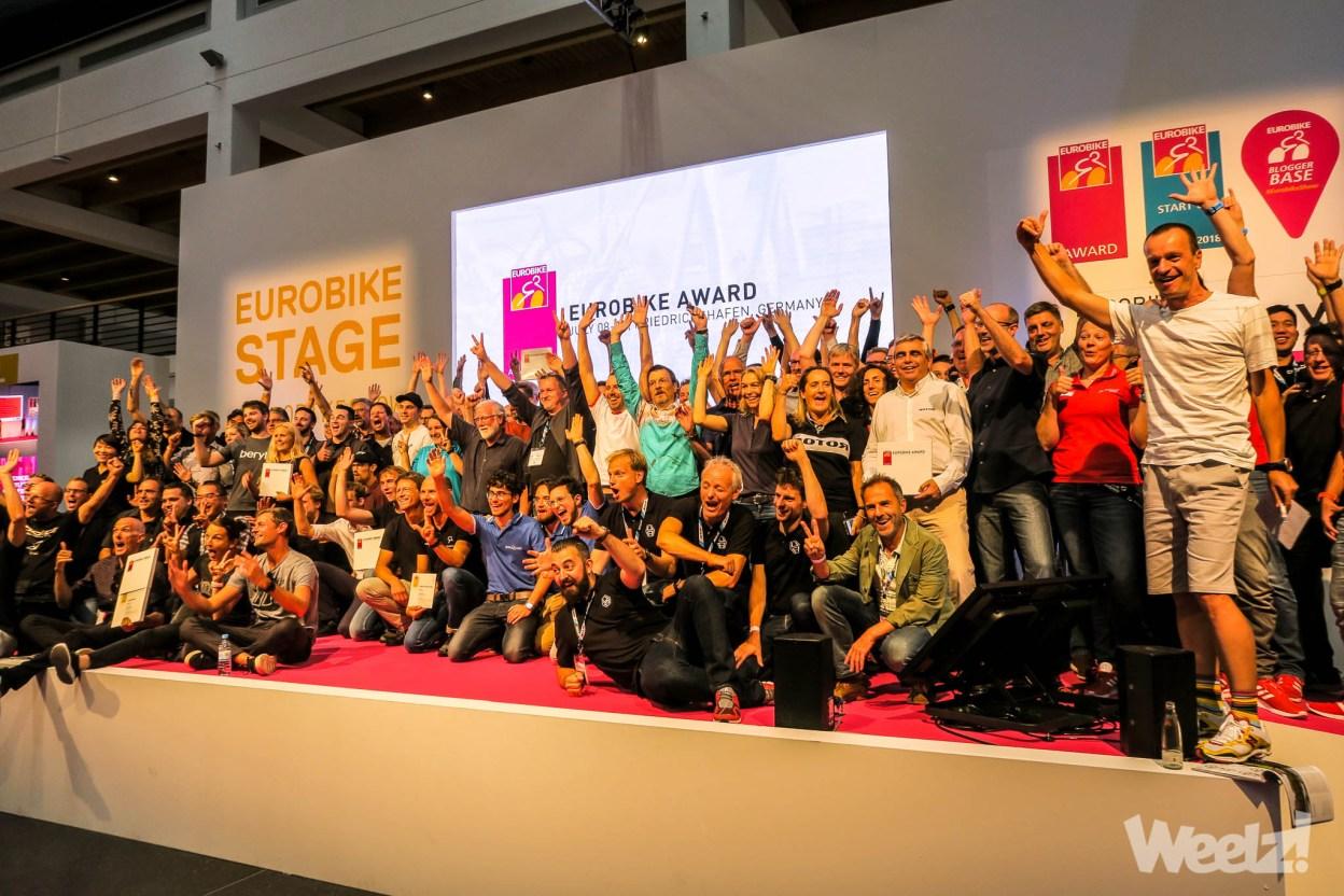 Eurobike Awards 2018, la mobilité vélo utilitaire remporte le Gold