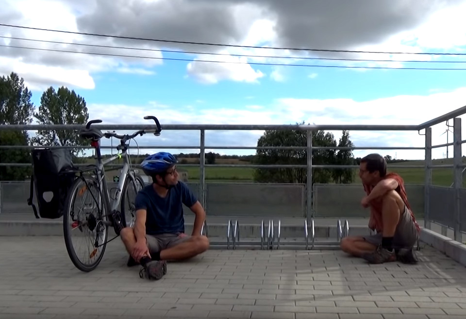 En Belgique aussi, le vélo en mode rural est compliqué