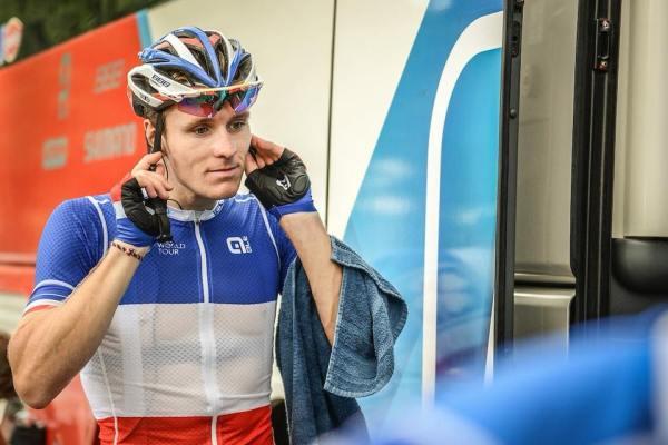 Arnaud Demare en colère :