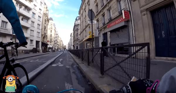 Faire du vélo en ville quand on a 10 ans