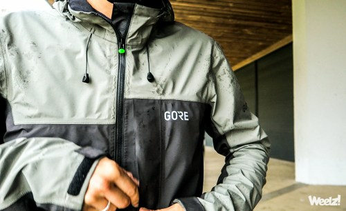 Weelz Test Veste Velo Etanche Gore Text C5 Active Trail 07