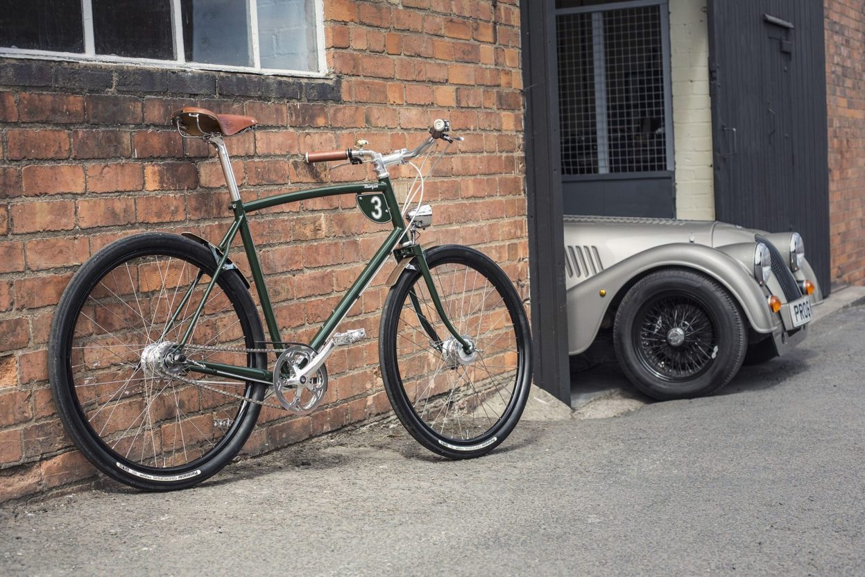 Pashley x Morgan, une collaboration vélo vintage So British