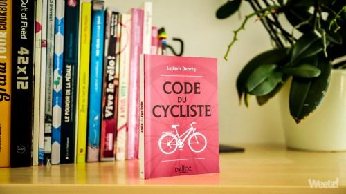 Weelz Livre Code Du Cycliste Ludovic Duprey 2019 9330