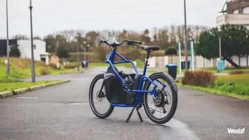 Weelz Test Velo Cargo Huppe Bike La Rochelle 2810
