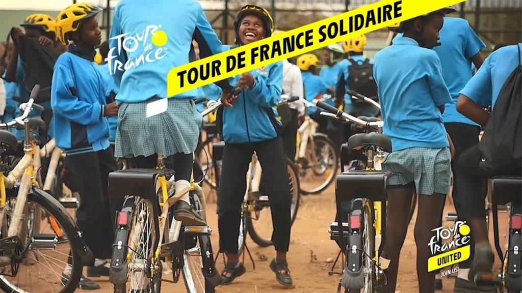 Tour de France Solidaire, des vélos pour ceux qui en ont vraiment besoin