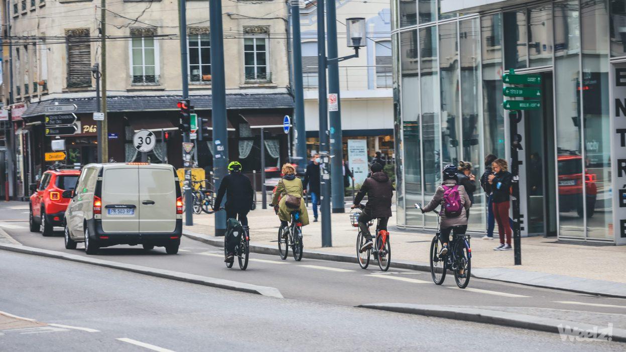 Le vélo est sous-représenté dans les projets européens, selon l'ECF
