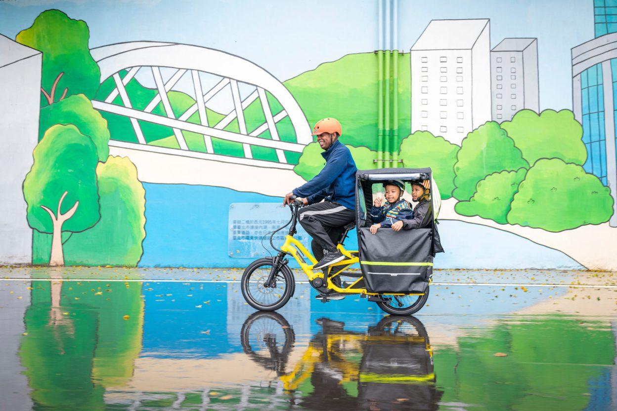 Tern GSD, une nouvelle gamme d'accessoires pour le vélo longtail
