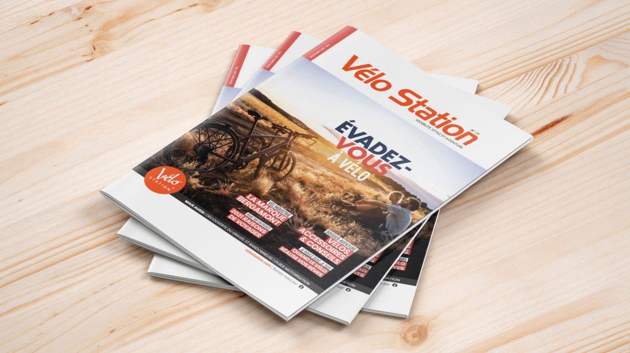 L'aventure à vélo avec le magazine Vélo Station N°3