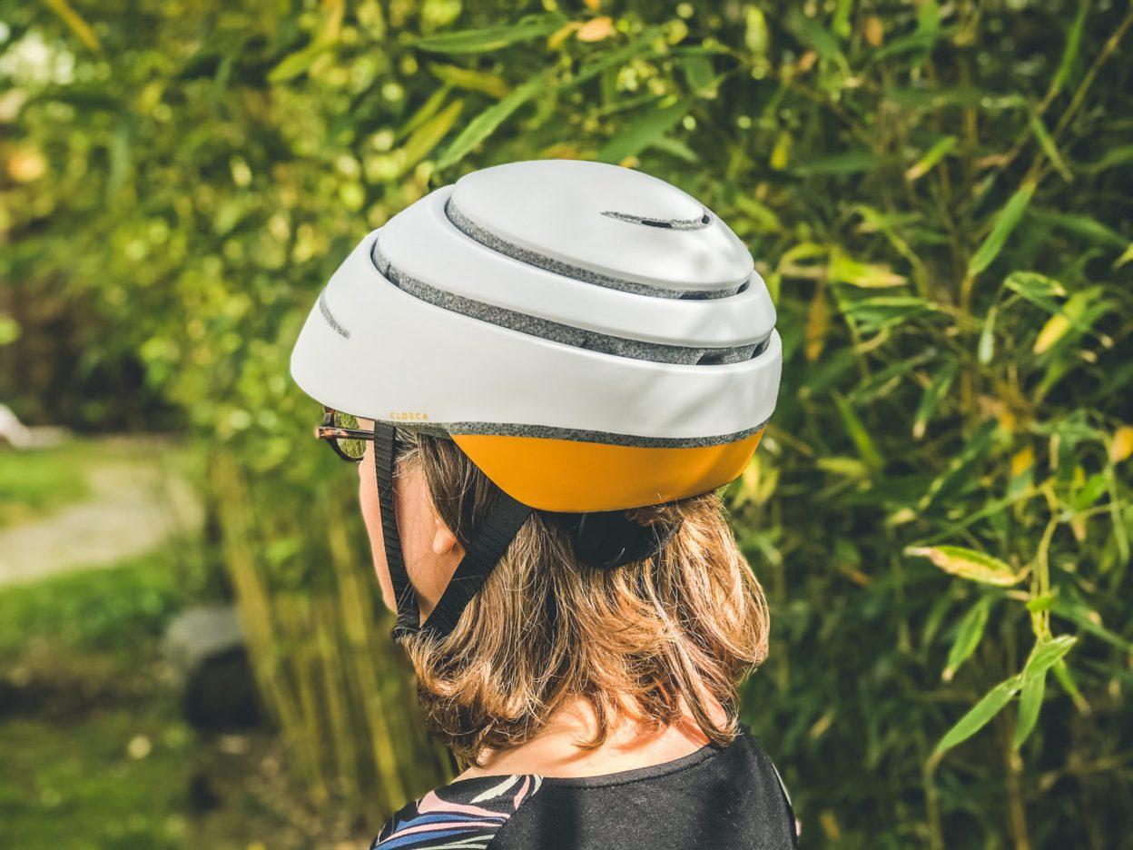 [Test] Closca Loop, un casque vélo pliable élégant, urbain et léger