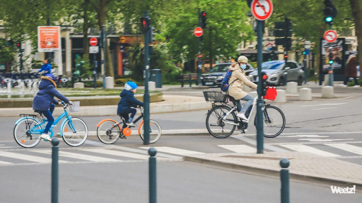Crash test : L'automobiliste est dangereux pour les enfants à vélo