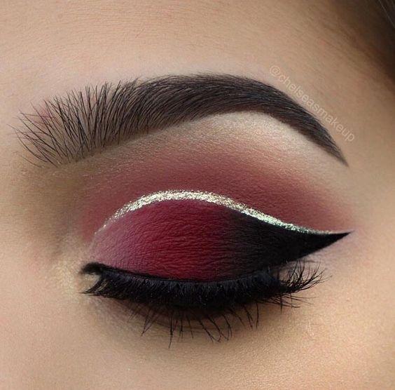 Maquiagem Com Sombra Vermelha Perca O Medo E Veja Como
