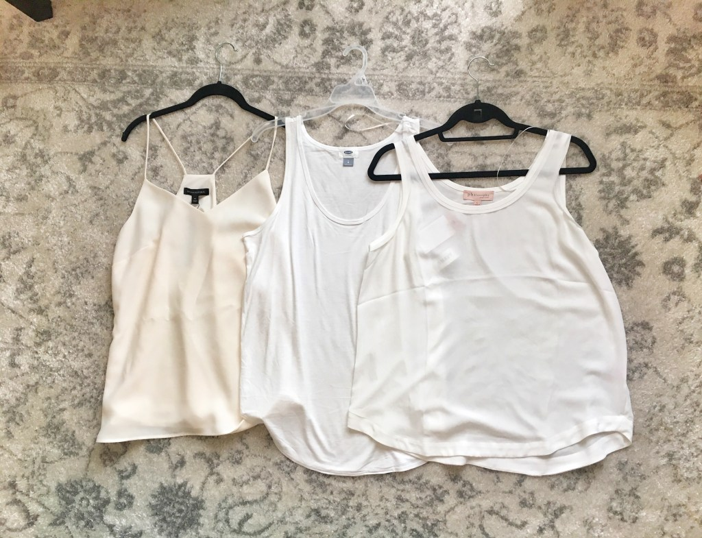 Capsule Wardrobe How to Get Started: Tanks