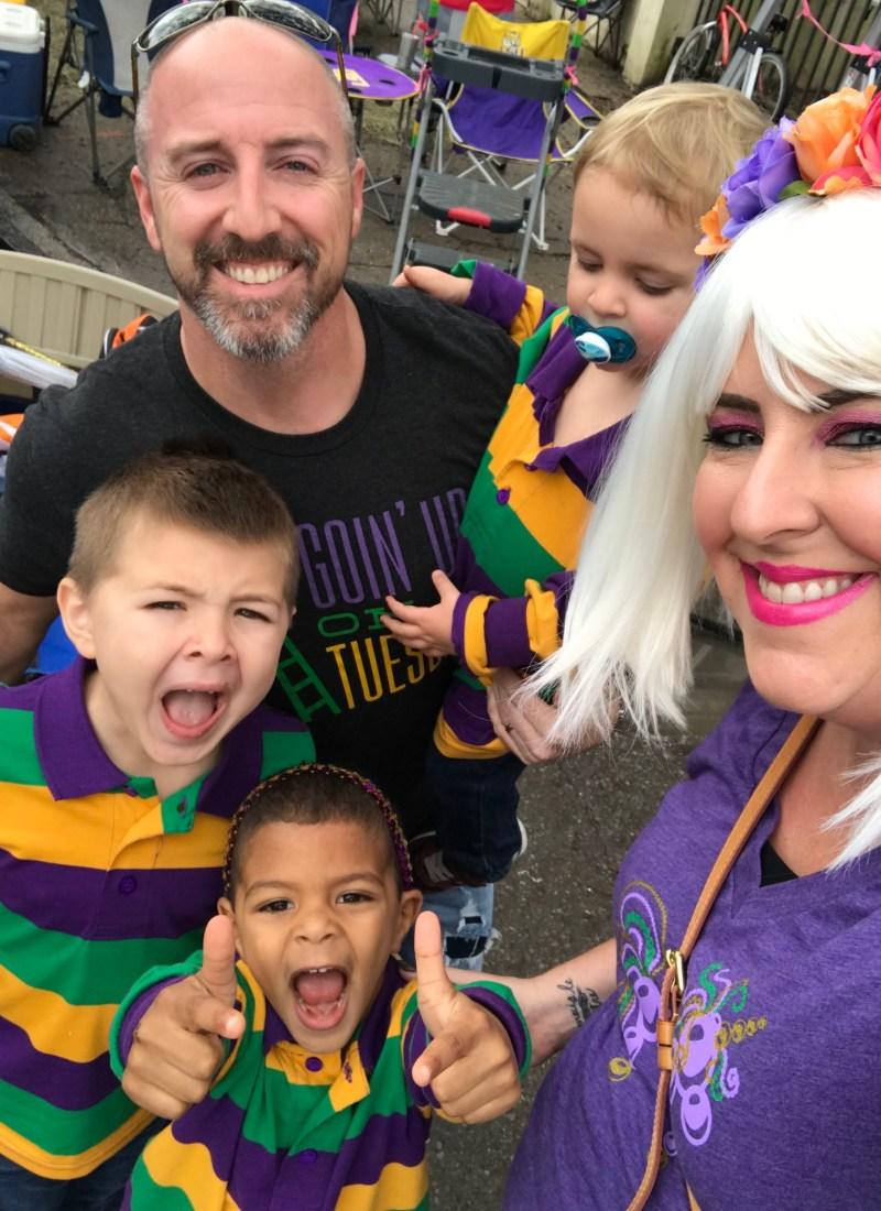 Doing Mardi Gras as a Family