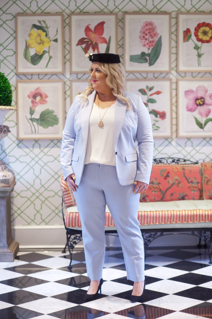 Pastel Blue Suit for Easter