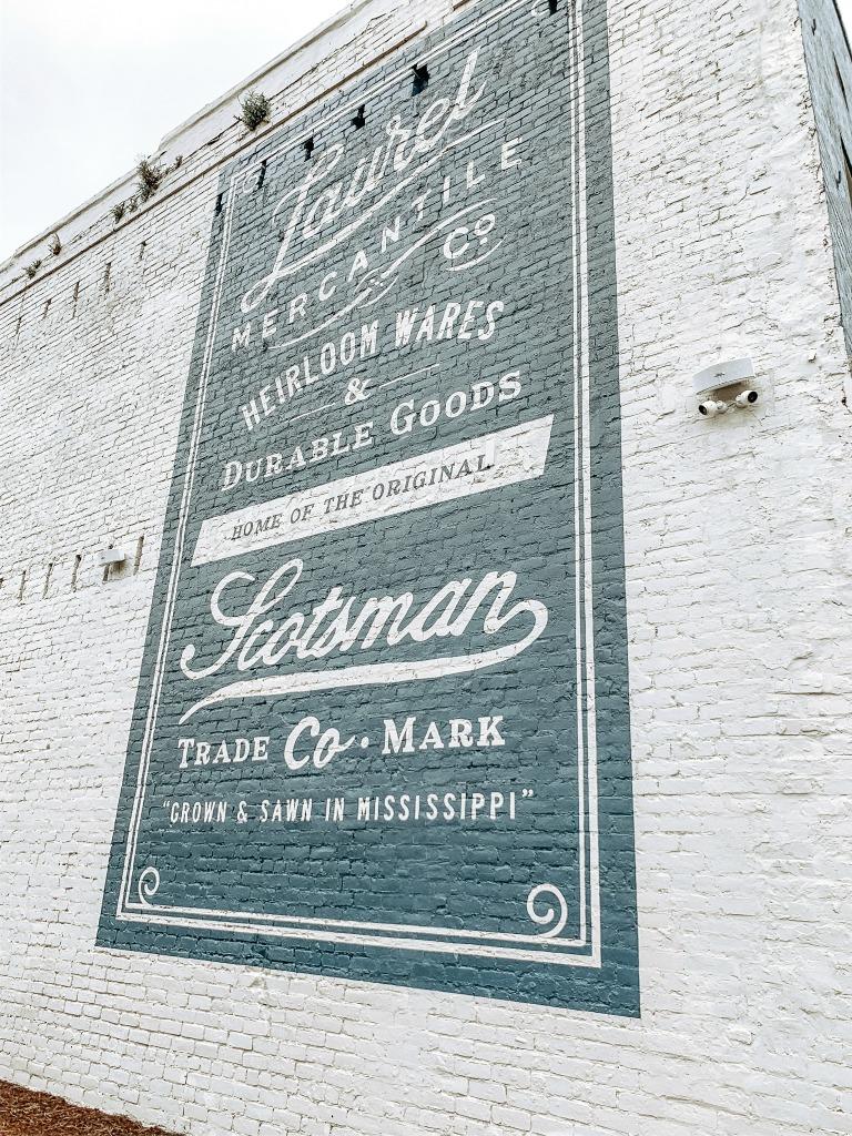 Laurel Mercantile Mural