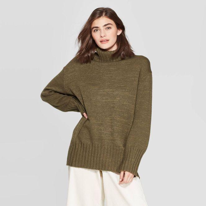 women's doleman sleeve sweater