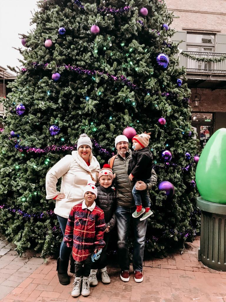 Miracle on Fulton Street Christmas Tree