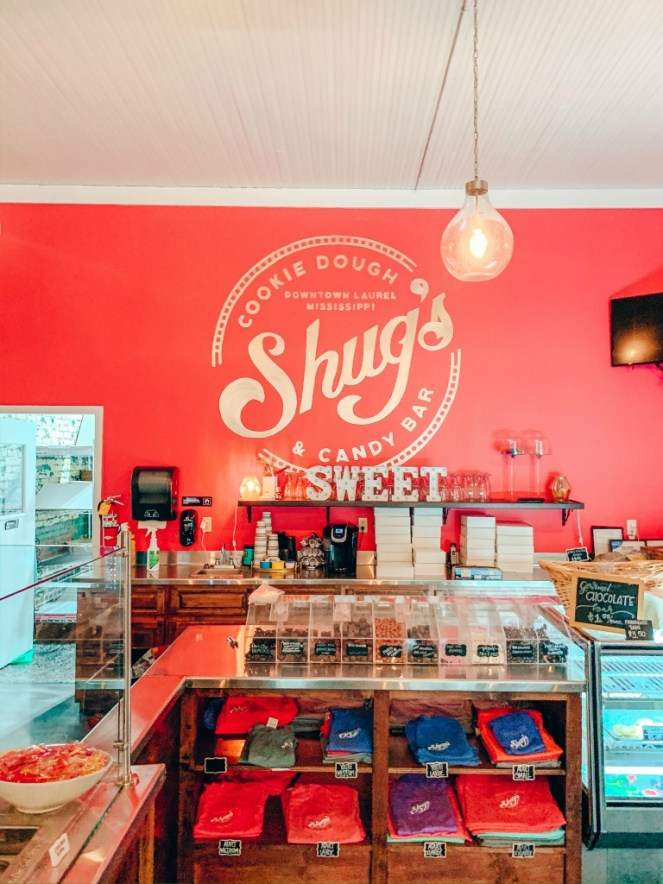 Shug's Cookie Dough and Candy Bar