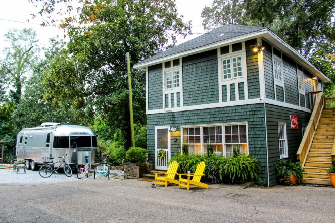 The Laurel Cottages and Airstream