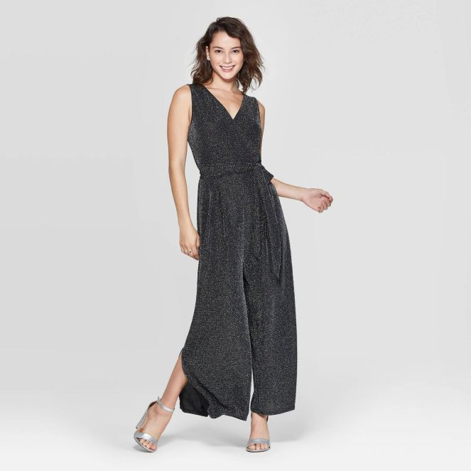 Sleeveless Sparkle Jumpsuit