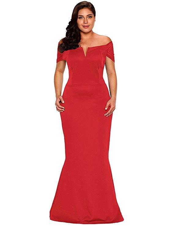 Amazon Formal Dress - Plus