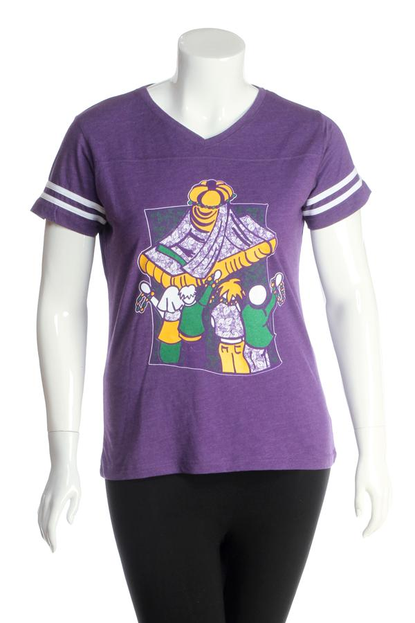 Jaci Blue Boutique Mardi Gras Tee