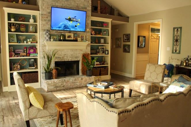 Living room in 2020