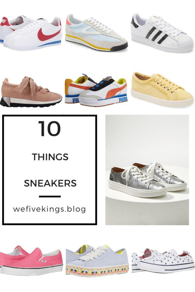 10 Things: Sneakers